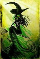 Elphaba - Defying Gravity by Culpeo-Fox