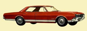 After the age of chrome and fins: 1966 oldsmobile by Peterhoff3