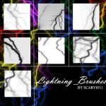 Lightning brushes by scary8511