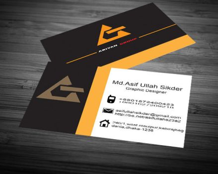 Creative-Business-Card-Front-Black-White by HRIDOY23