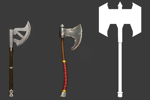 DDF2014 - Axe Concepts by hermit-homeboy