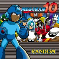 Mega Ran 10 CD cover by Thormeister