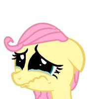 You made Fluttershy cry! by MLPalice