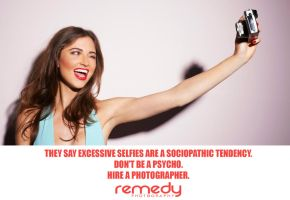 #stoptheselfies - Ad by remydarling