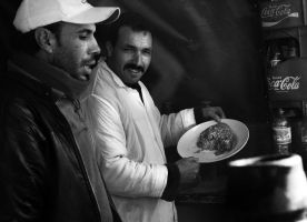 Restaurant Owner and Cook by wilmil