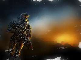 Halo (Master Chief) by syril32
