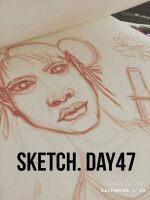 Sketch Day 47 by n3rdswithpapercuts