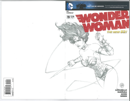 Wonder Woman Cover by Ace-Continuado