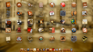 Roaring 20s Icons (complete set) OS X by TheRoaring20s