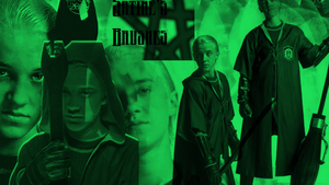 Draco Malfoy by satinecm