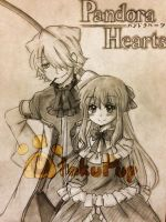Pandora Hearts - Break and Sharon by OtakuPup