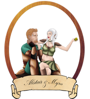 15. Myra and Alistair by Intrecciafoglie