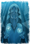 Blue Diamond sketch by BlueStripedRenulian