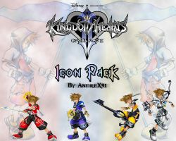Kingdom hearts Icon Pack by Andrex91