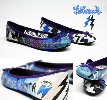 Lottie Lady Gaga Baker shoes by Bobsmade