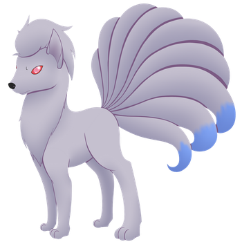 Shiny Ninetails by Hearts-and-Hooves