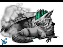 Grypwolf as Gryphon by Grypwolf