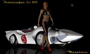 Go Speed Racer by TrekkieGal