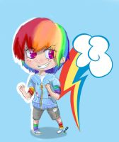 Rainbow Dash by xPetalstormx