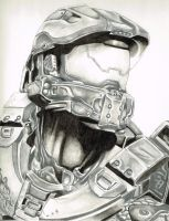Master Chief Halo by Starr-Fall