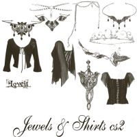 Jewels and shirts by BrushHaven1