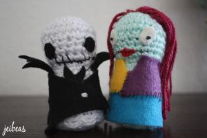 Jack and Sally by jeibeas