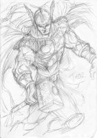 doodle: Thor by vanchoran