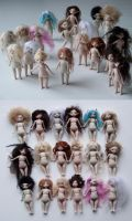 Army of Eka dolls by ladymeow