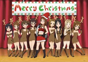 K-On Christmas by VZMk2