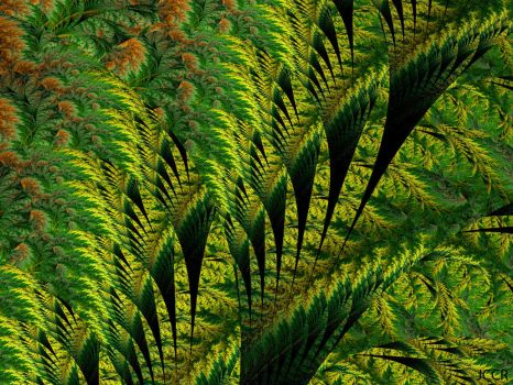 Tropical Fractal by jccrfractals