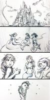 Finding a Friend (storyboard project) by razzlepazzledoodot