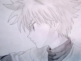 Killua-serious by mystic-pUlse
