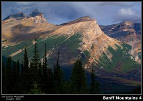 Banff Mountains 4 by KSPhotographic