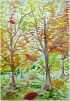 Postcard - front side (Autumn inspiration) by ma-ry2004