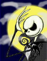 Jack Skellington by TheUnsentLaugh