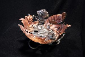leaf bowl cont' by artistladysmith
