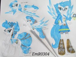 OC Shimmering Sheild Reference 3 by EmR0304