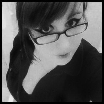 All Black and White and Grainy by pixelwhore88