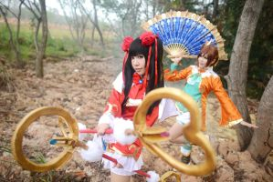 Dynasty Warriors - The Two Qiaos 02 by AmyDakota