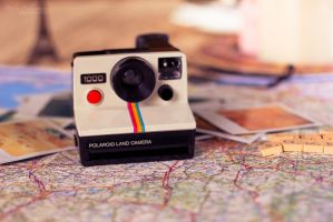 Polaroid Land Camera by Pamba