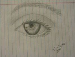 Beautiful Eye by FELICIAxxRAWR