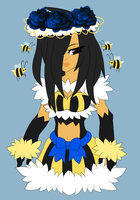 Bumblebee Girl Adopt by TurquoiseWolfStar7