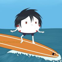 That Peppermint Butler, Hanging Ten by ThePlushieLady