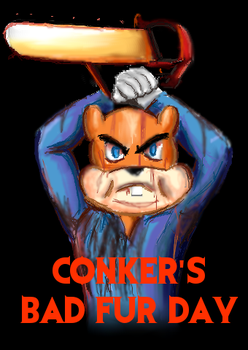 Conker's Bad Fur Day by Lizzaroro