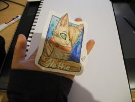 Traditional Commission example by Karaikou