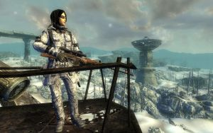 Fallout 3: Winter Wasteland by cyborgakadjmoose