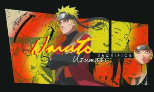 Naruto sacrifice signature by lady-alucard