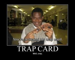 Poster - TRAP CARD by E-n-S