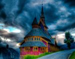 Purple Church 2 by Willbo91