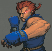 street fighter gouki by oetaro